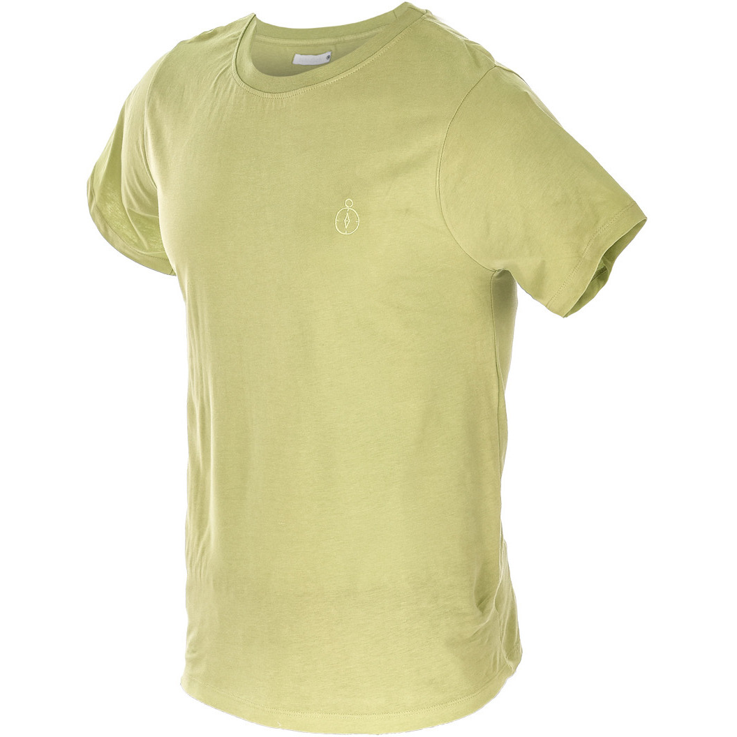 Mens Lime Green T-Shirt (Size:SMALL)