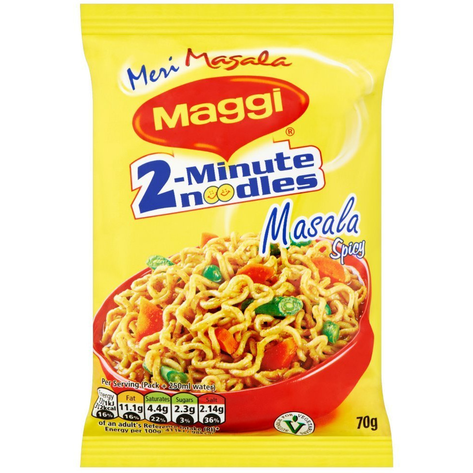 Maggi Masala Noodles (Export Pack) - 70 Gm