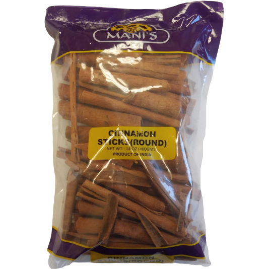 Mani's Cinnamon Sticks Round - 400 Gm