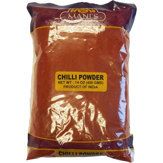 Mani's Chilli Powder Regular - 400 Gm