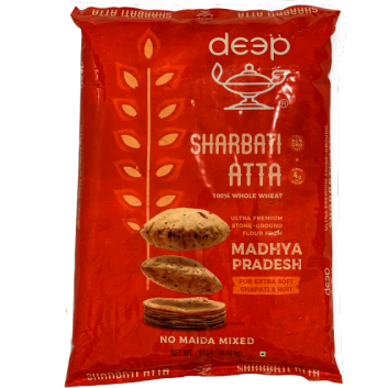Deep Sharbati Atta - 10 Lb
