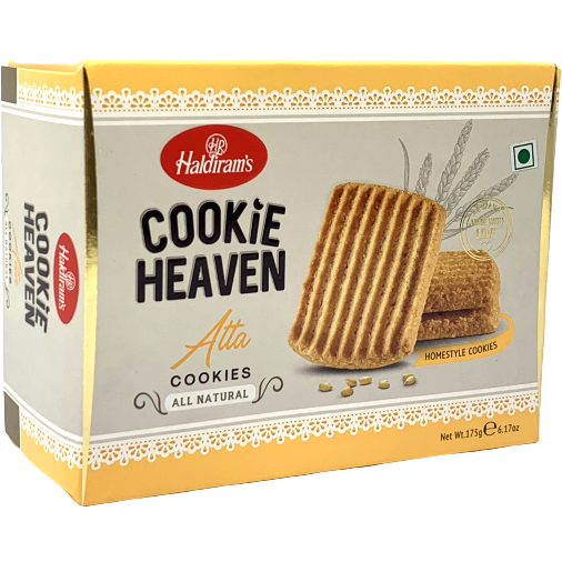 Haldiram's Cookie Heaven Atta Cookies - 175 Gm
