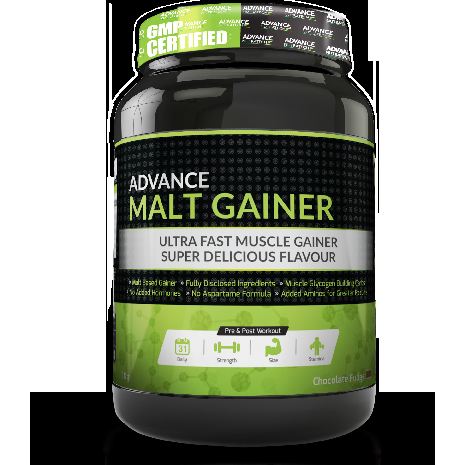 Advance Nutratech Malt Gainer Chocolate 1kg