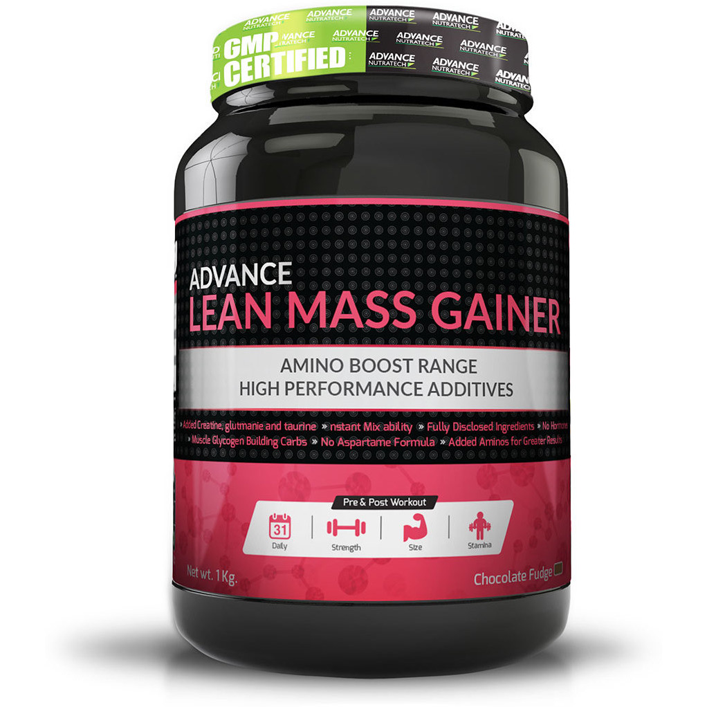 Advance Nutratech Lean Mass Gainer 1Kg (2.2Lbs) Chocolate