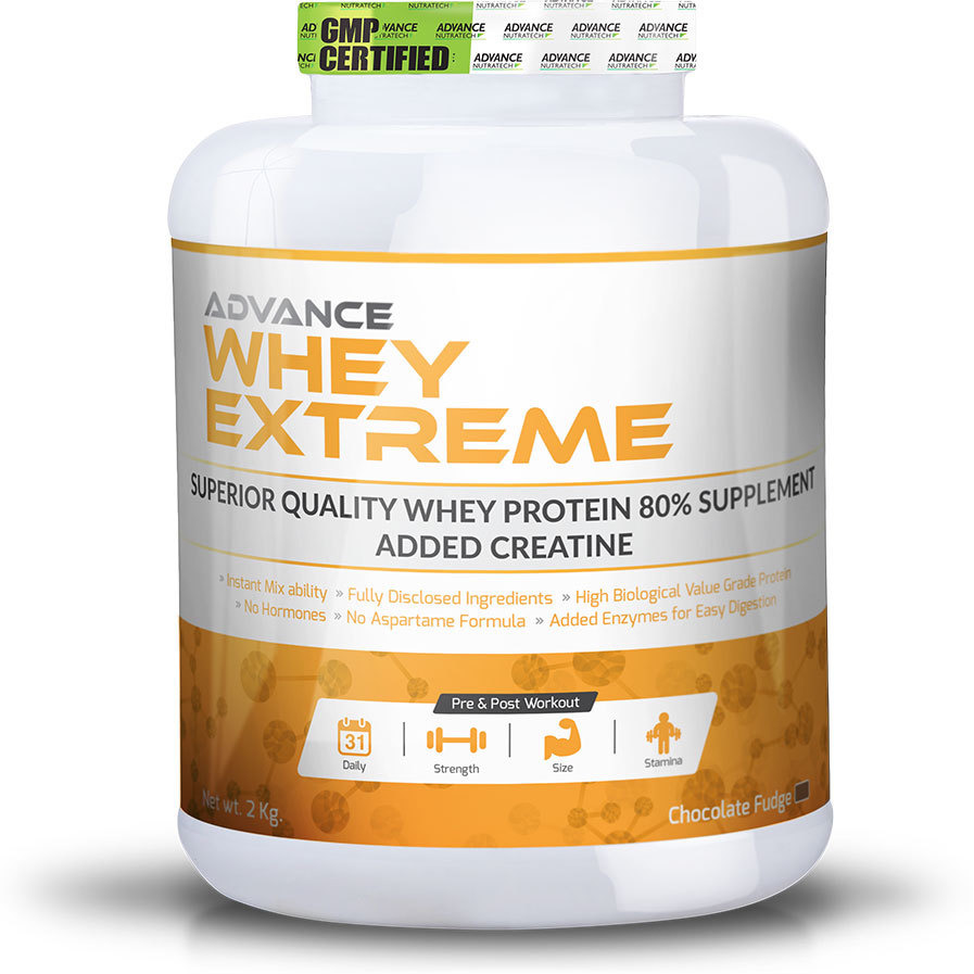 Advance Nutratech Whey Extreme Protein Powder 2Kg (4.4Lbs) Chocolate
