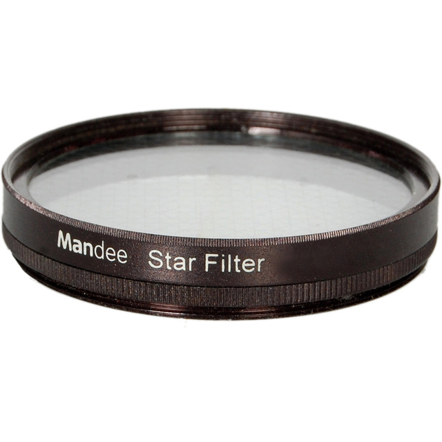 62mm + 8 points star filter for Canon Nikon Sony or DSLR Camera