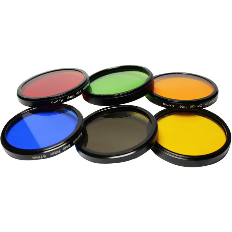 58 mm Color Filter kit set of 6 for digital SLR  Camera + Filter pouch