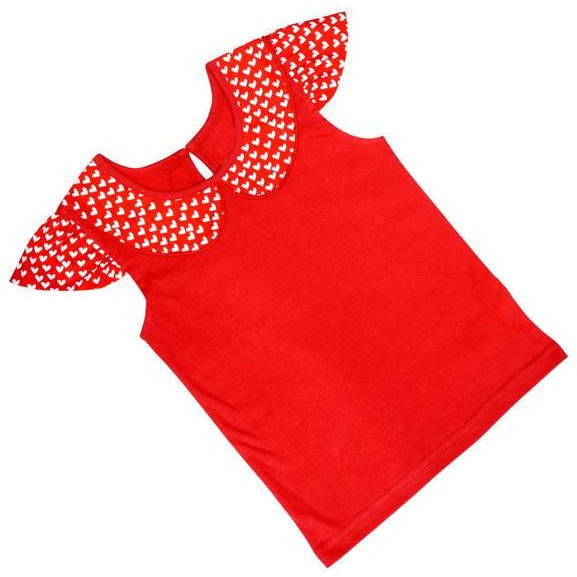 Always Kids' Red Eve Tee (Size:18-24M)