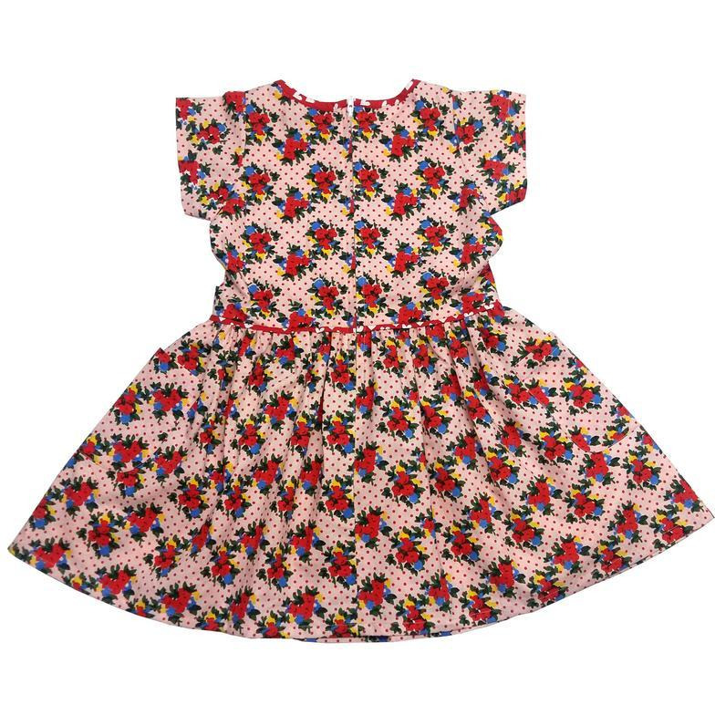 Always Kids'Angie Printed Dress Pink Kensingon