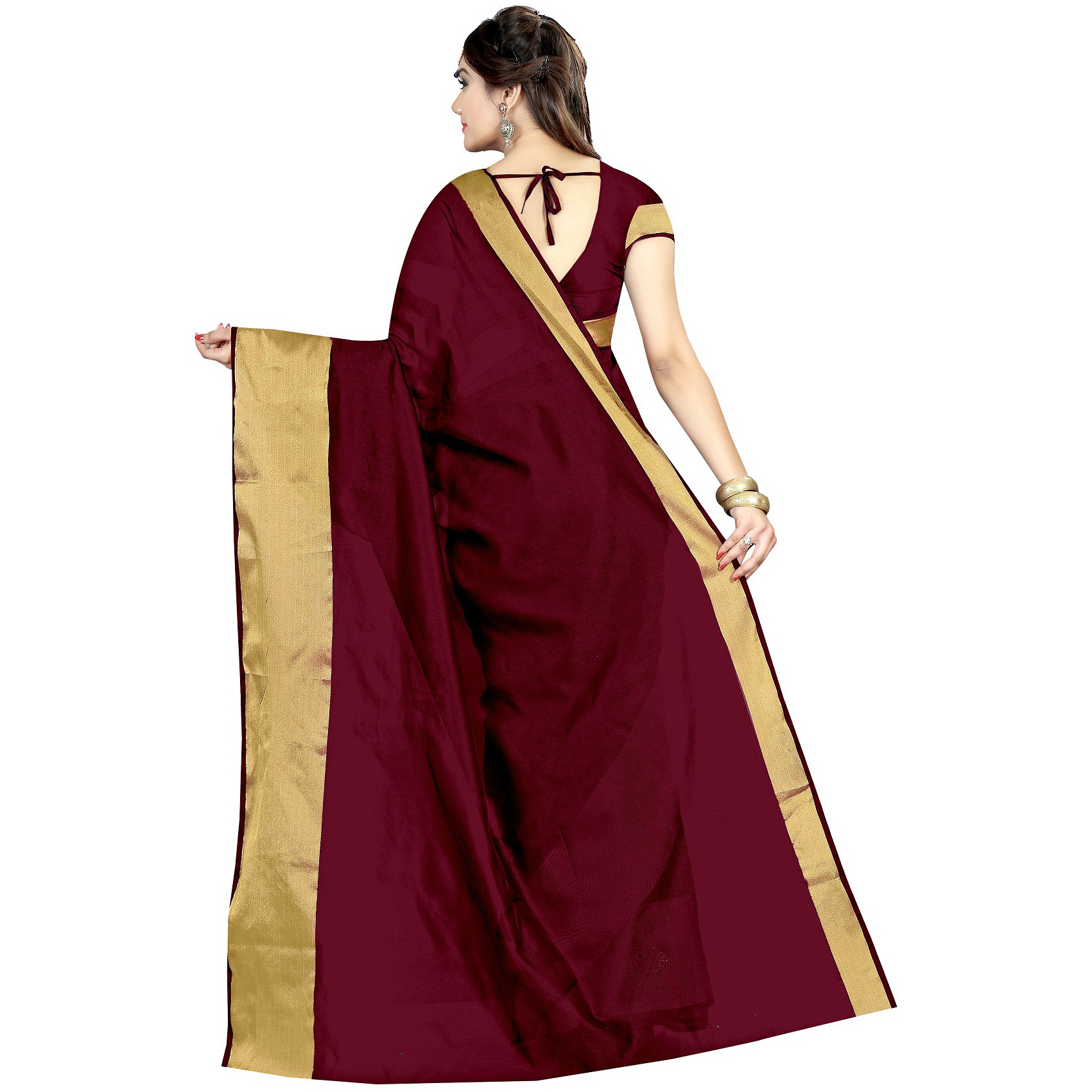 Mastani Cotton Silk Designer Saree