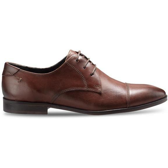 Teakwood Leather Brown Formal Shoes (Size:41)