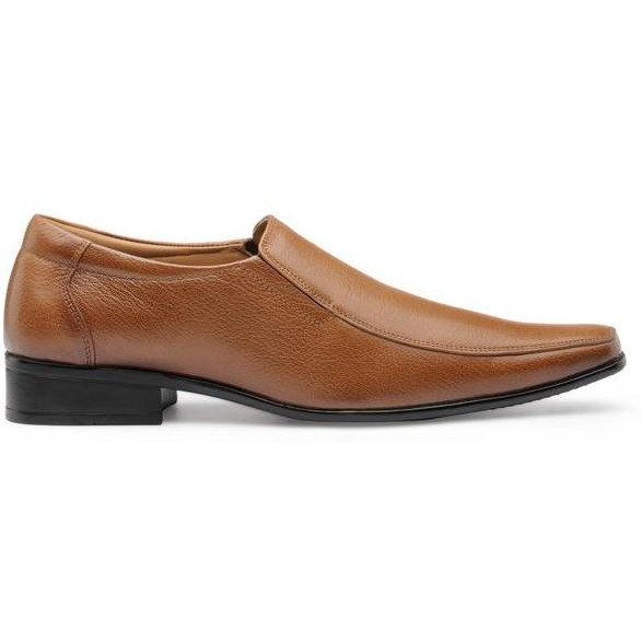 Teakwood Leather Tan Formal Shoes (Size:44)