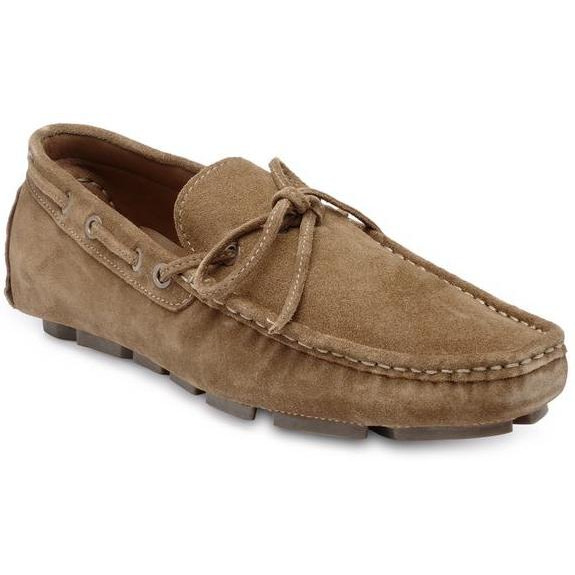 Teakwood Leather Brown Loafer Shoes (Size:42)