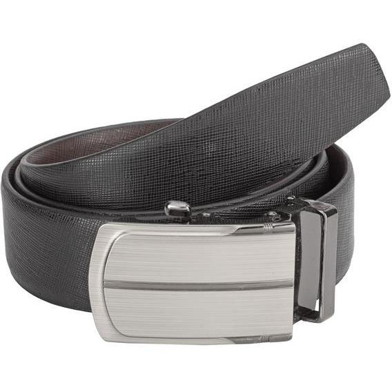 Teakwood Leathers  Men Black Belt (Size:WAIST 44)