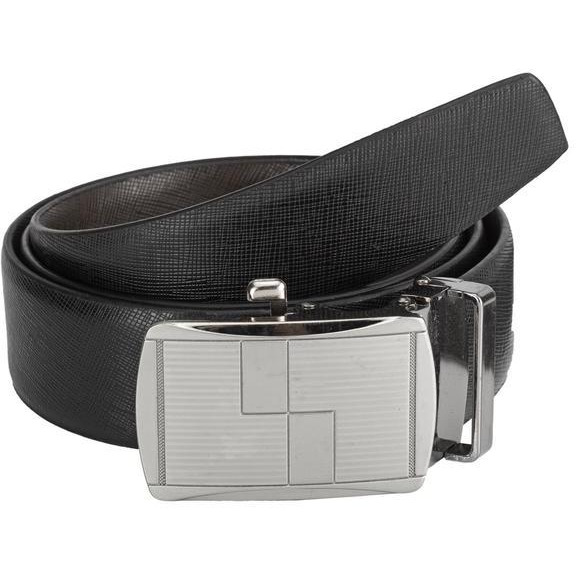 Teakwood Leathers  Men Black Belt (Size:WAIST 42)