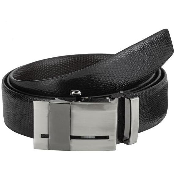 Teakwood Leathers  Men Black Belt (Size:WAIST 34)