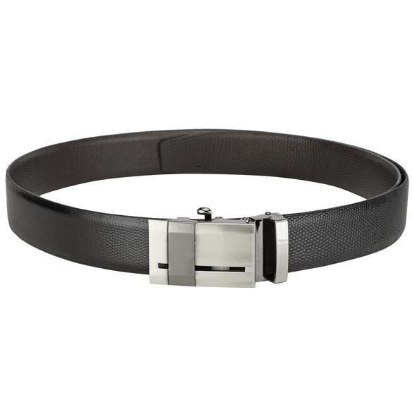 Teakwood Leathers  Men Black Belt