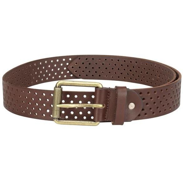 Teakwood Leathers  Men Coffee Brown Belt (Size:WAIST 34)
