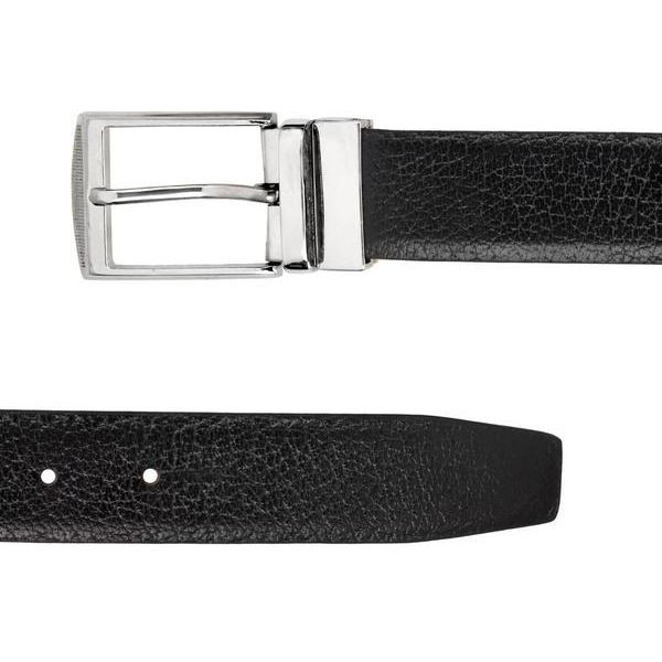 Teakwood Leathers  Men Black Belt (Size:WAIST 36)