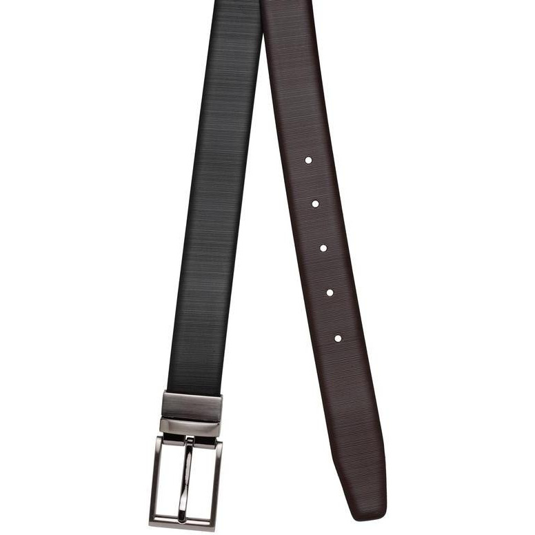 Teakwood Leathers  Men Black Belt (Size:WAIST 40)