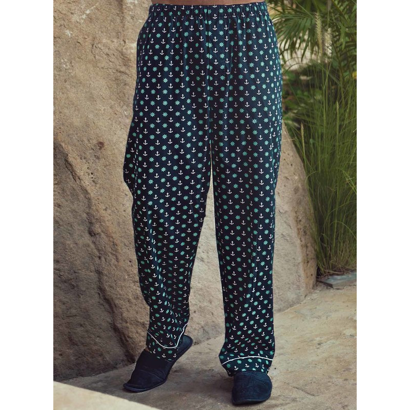 Anchors-Helms Mens Printed Pajamas