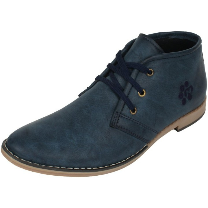 Molessi Blue Casual Shoe (Size:UK/IND-9)