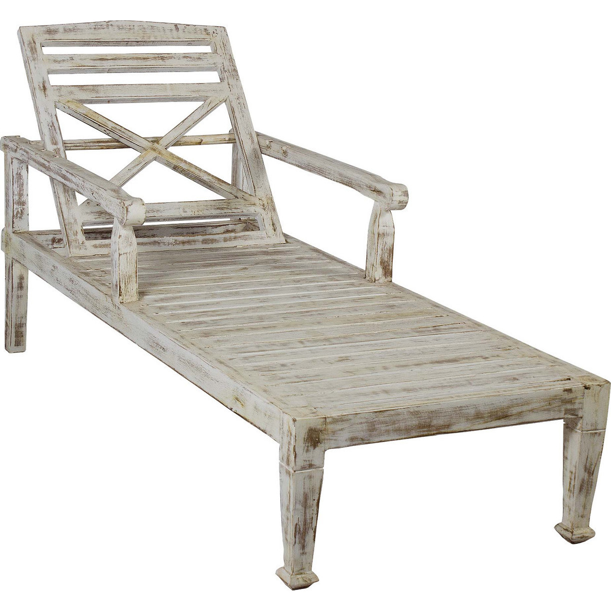 SOLID TEAK WOOD BEACH CHAISE LOUNGE CHAIRB - Antique Finish  sc 1 st  ZiFiti : beach chaise lounge - Sectionals, Sofas & Couches