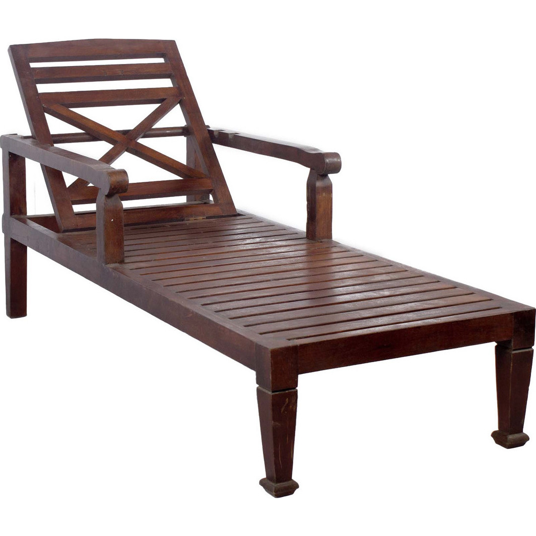 Wooden beach lounge chair - Zifiti Com Buy Sell Solid Teak Wood Beach Chaise Lounge Chairb Dark Wood Finish Online Zifiti