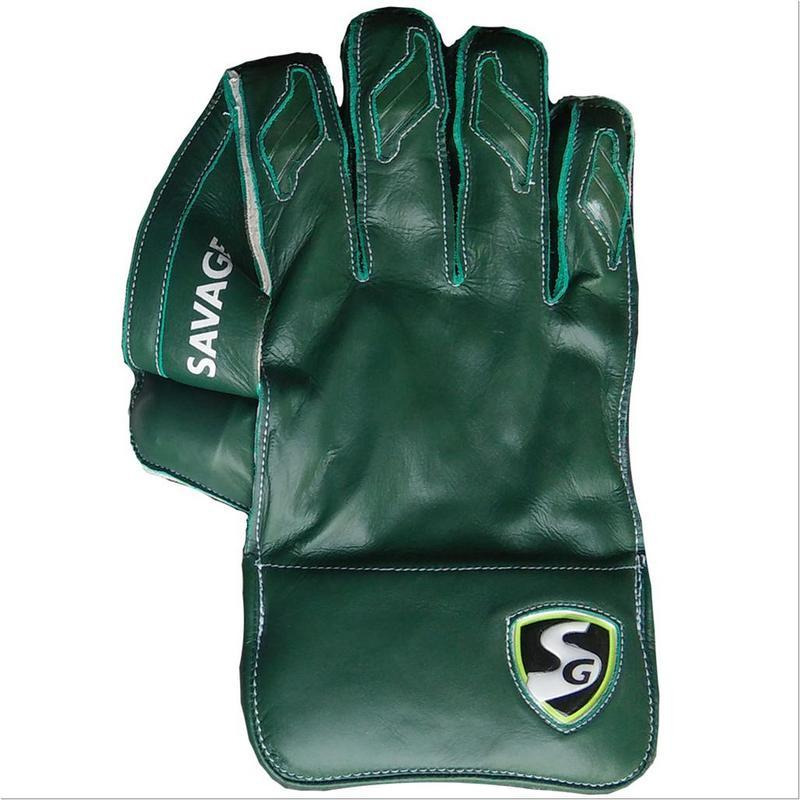Sg Savage Wicket Keeping Gloves (Size: Full Size)