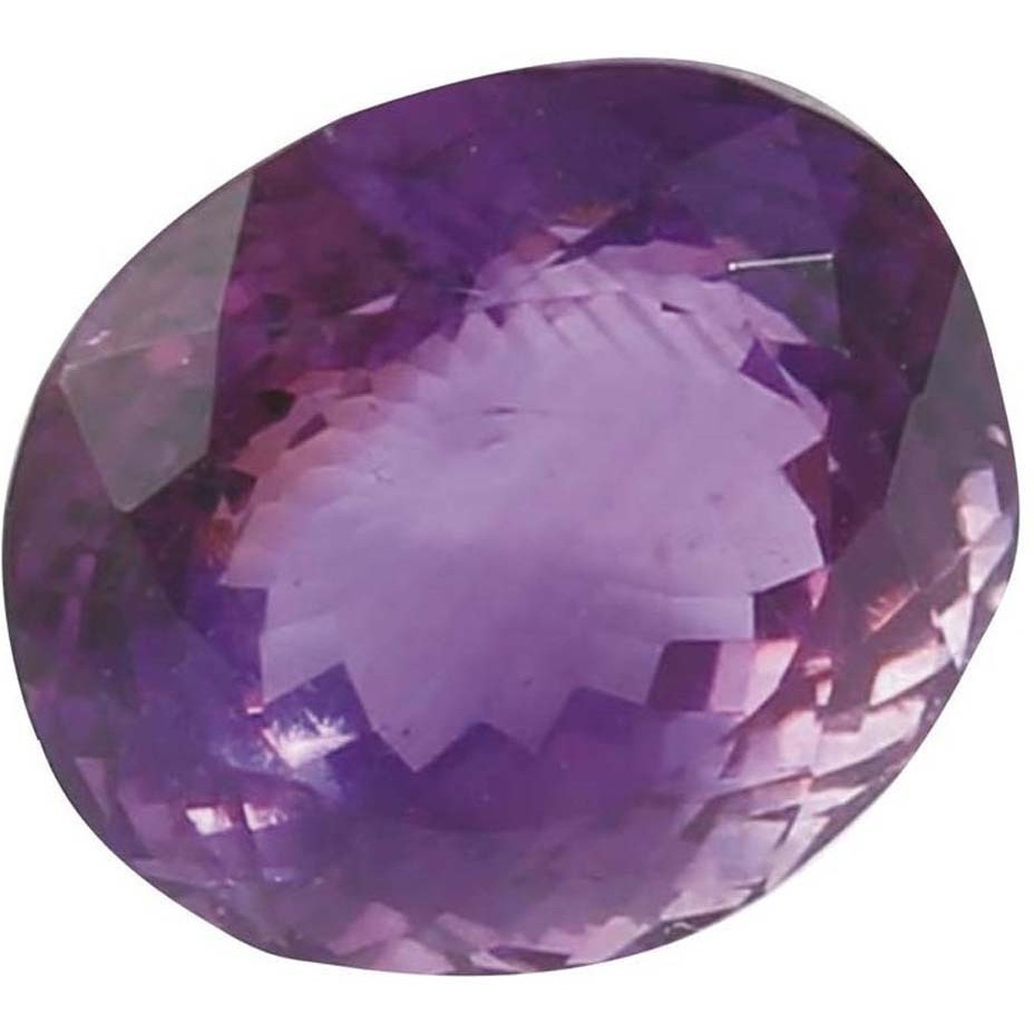 11 Ct Certified Amethyst Gemstone