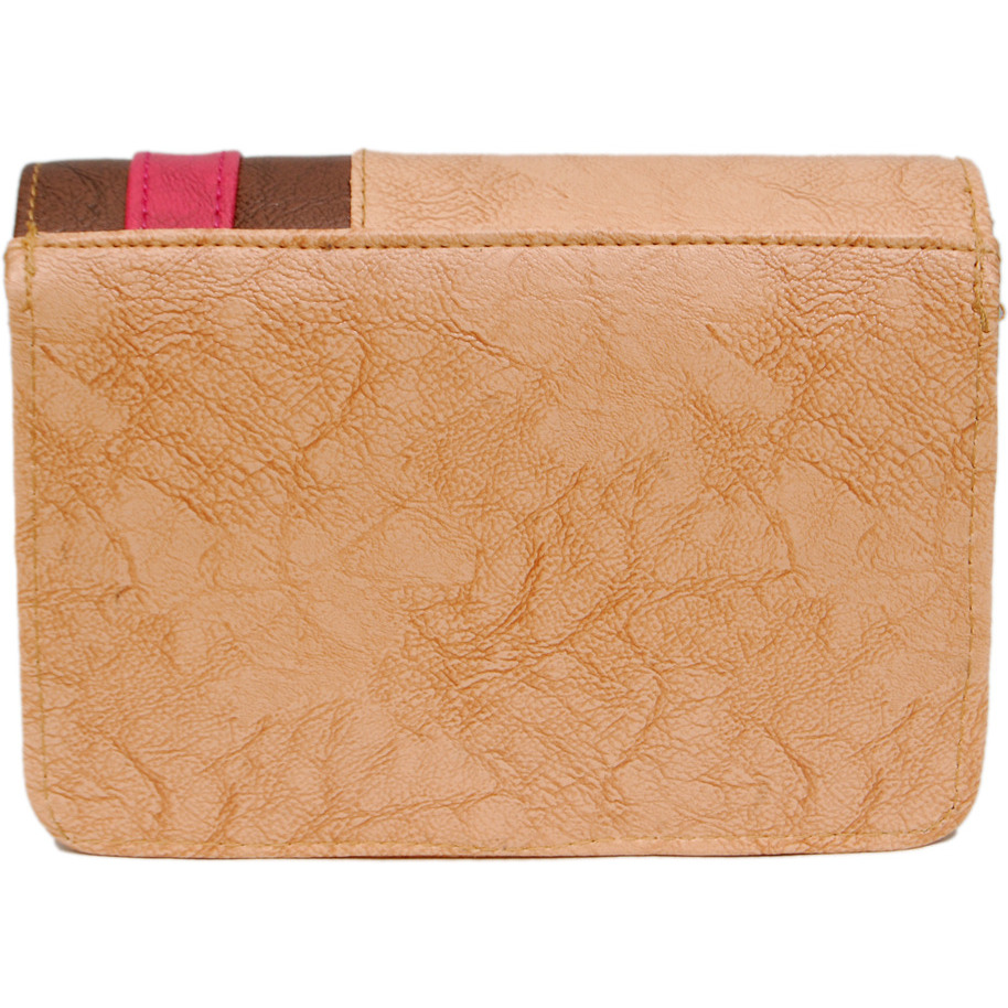 Womens B8 Beige Boxed Sling Bag