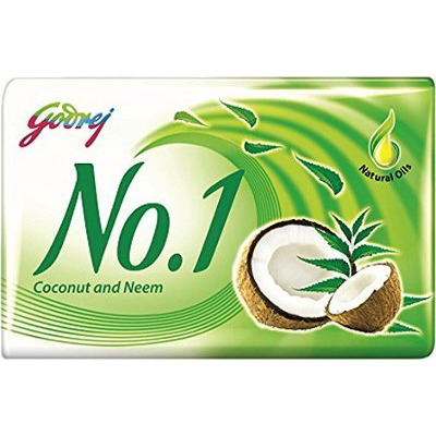 Godrej No. 1 Coconut And Neem Beauty Soap - 115 Gm