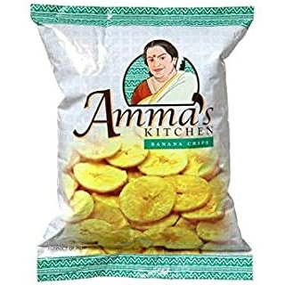 Amma's Kitchen Banana Chips Plain - 400 Gm