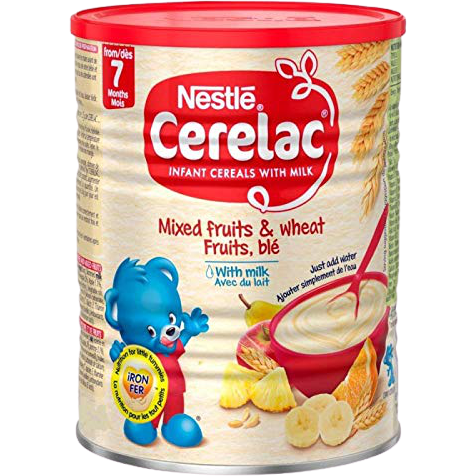 Nestle Cerelac Mixed Fruits Wheat With Milk - 400 Gm