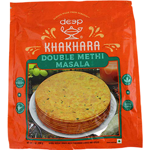 Deep Double Methi Masala Khakhara - 7 Oz