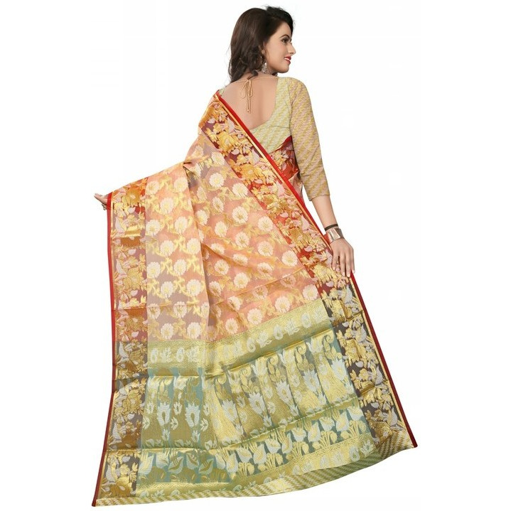 Aadya Couture Party Wear Saree With Blouse