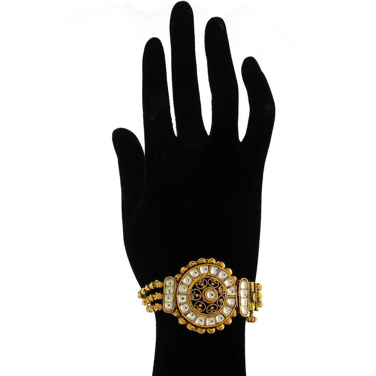 Anuradha Art Round Shape Stylish Trendy Traditional Hand Bracelet/Kada Bangles For Women/Girls