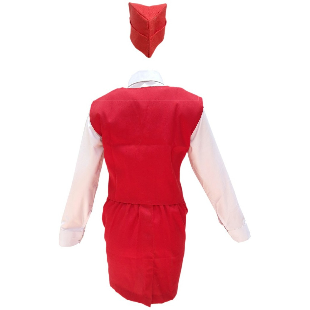 KFD Air Hostress fancy dress for kids,Our helper costume for Annual function/Theme Party/Competition/Stage Shows Dress