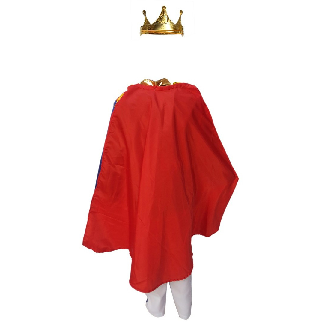 KFD Prince Charming Fancy Dress for kids,Fairy Teles Characters,Story book Costume for Annual function/Theme Party/Competition/Stage Shows/Birthday Party Dress