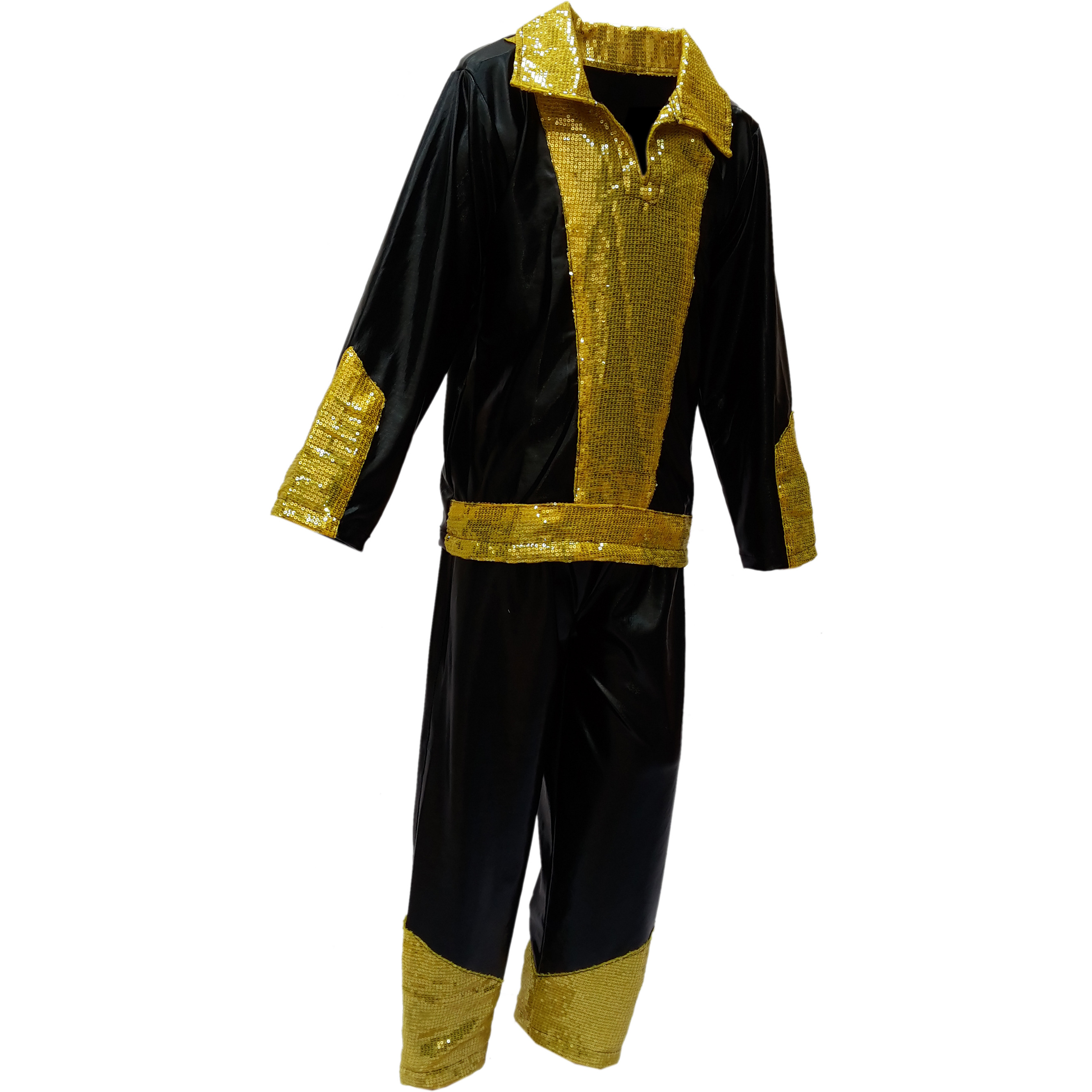KFD Rock star fancy dress for kids,  Costume for Annual function/Theme Party/Competition/Stage Shows/Birthday Party Dress (Size:5 TO 6)