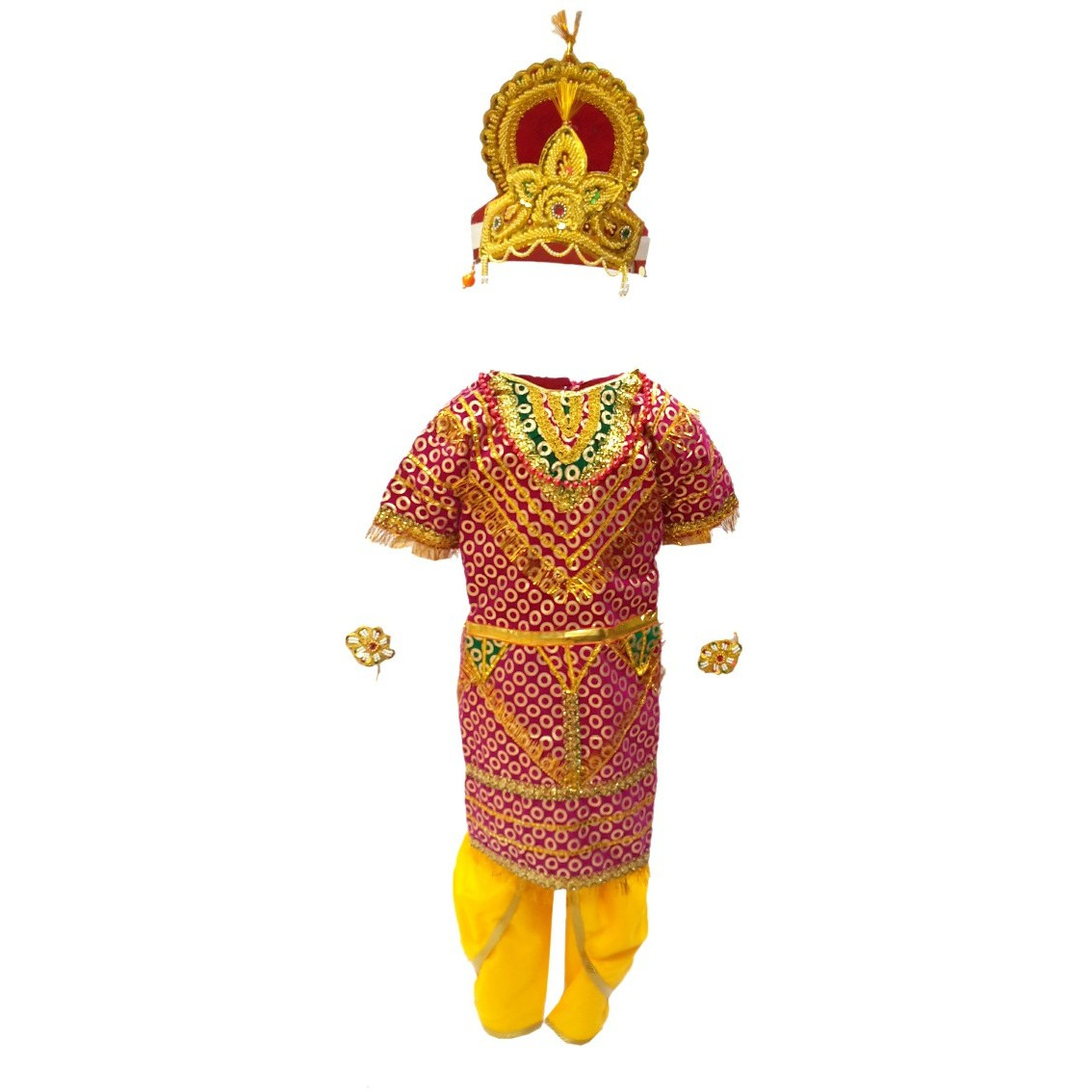 b3a57eca2c Buy Online KFD Meghnath fancy dress for kids,Ramleela/Dussehra/Mythological  Character for Annual function/Theme Party/Competition/Stage Shows Dress  from USA ...