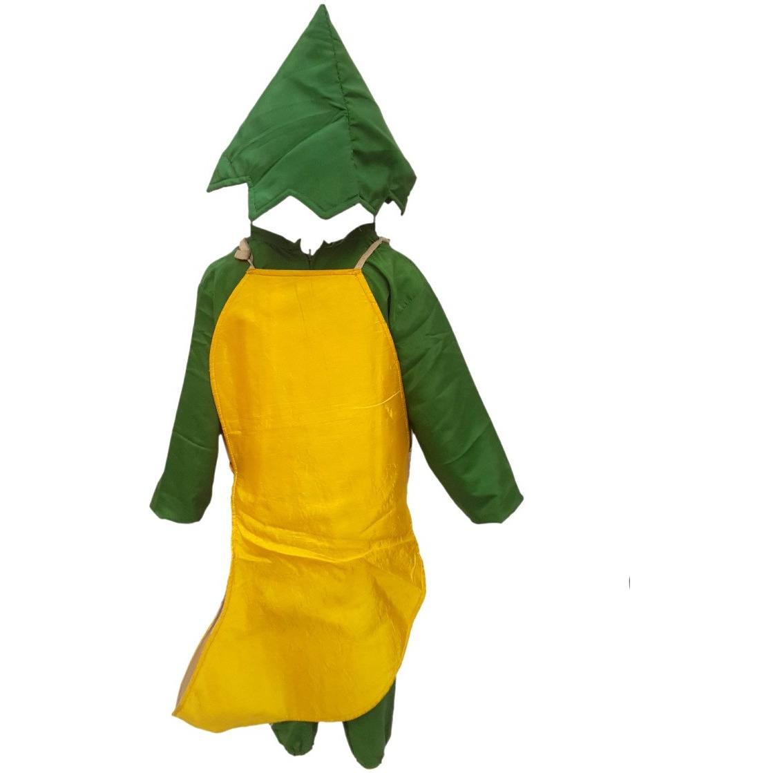 KFD Smily Banana fancy dress for kids,Fruits Costume for School Annual function/Theme Party/Competition/Stage Shows Dress (Size:5 TO 6)