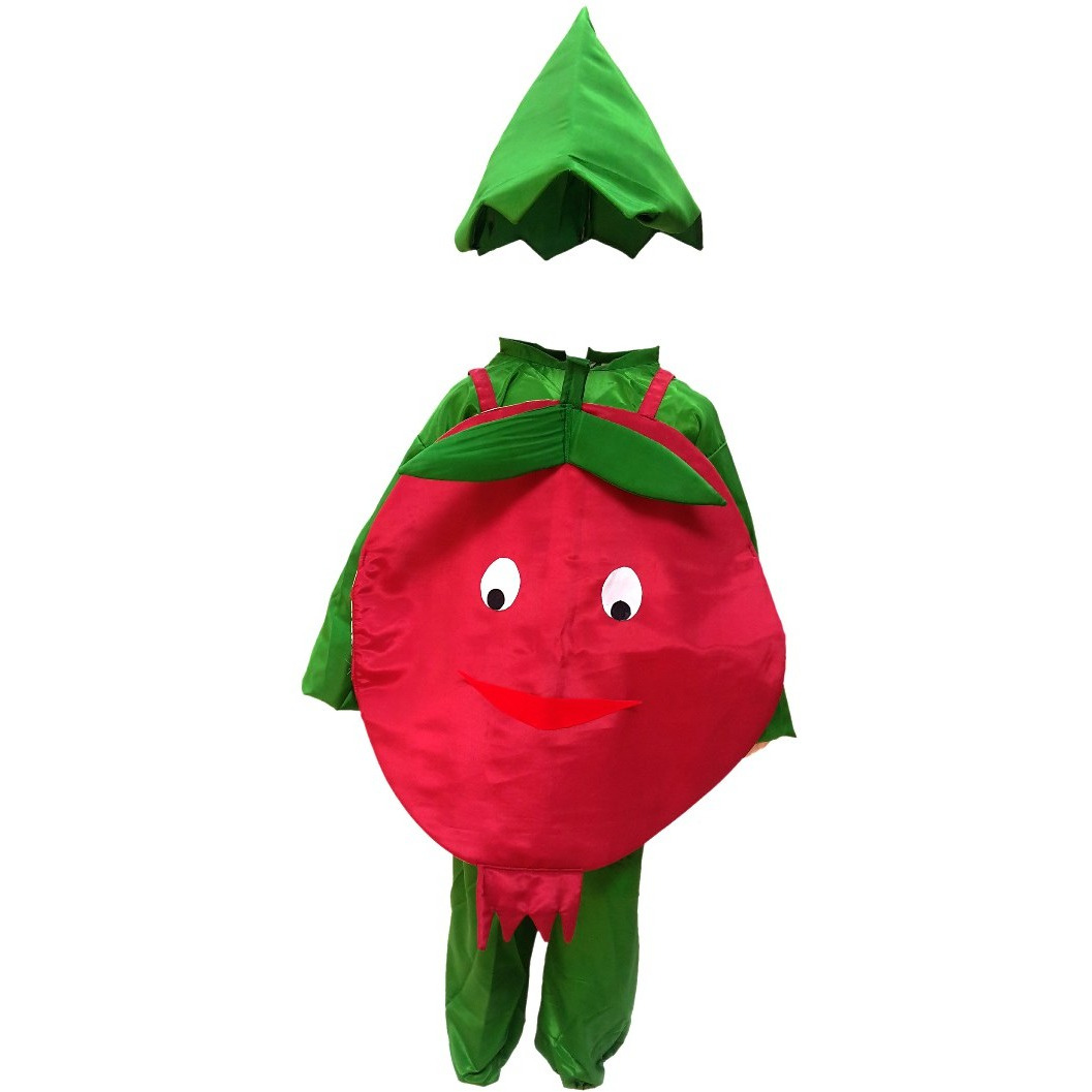 KFD Pomegranate fancy dress for kids,Fruits Costume for School Annual function/Theme Party/Competition/Stage Shows Dress