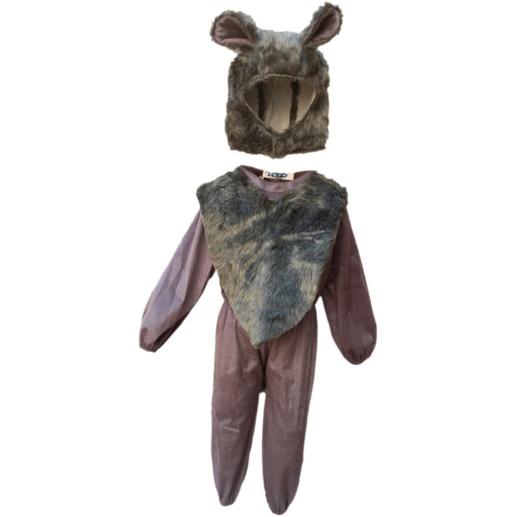 KFD Wolf fancy dress for kids,Wild Animal Costume for Annual function/Theme Party/Competition/Stage Shows Dress