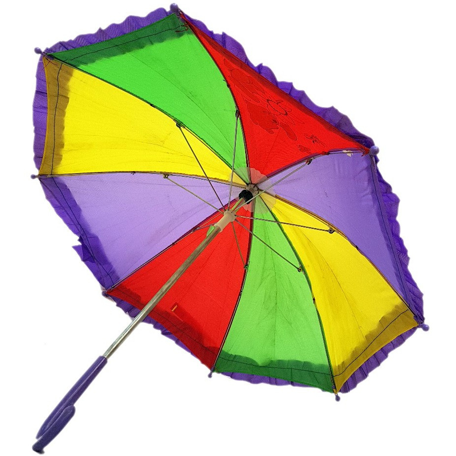 KFD rainbow umbrella accessories for kids