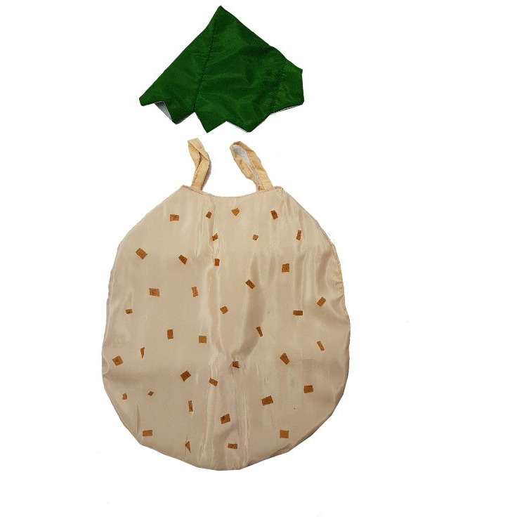 Kaku Fancy Dresses Potato cutout with Cap for kids