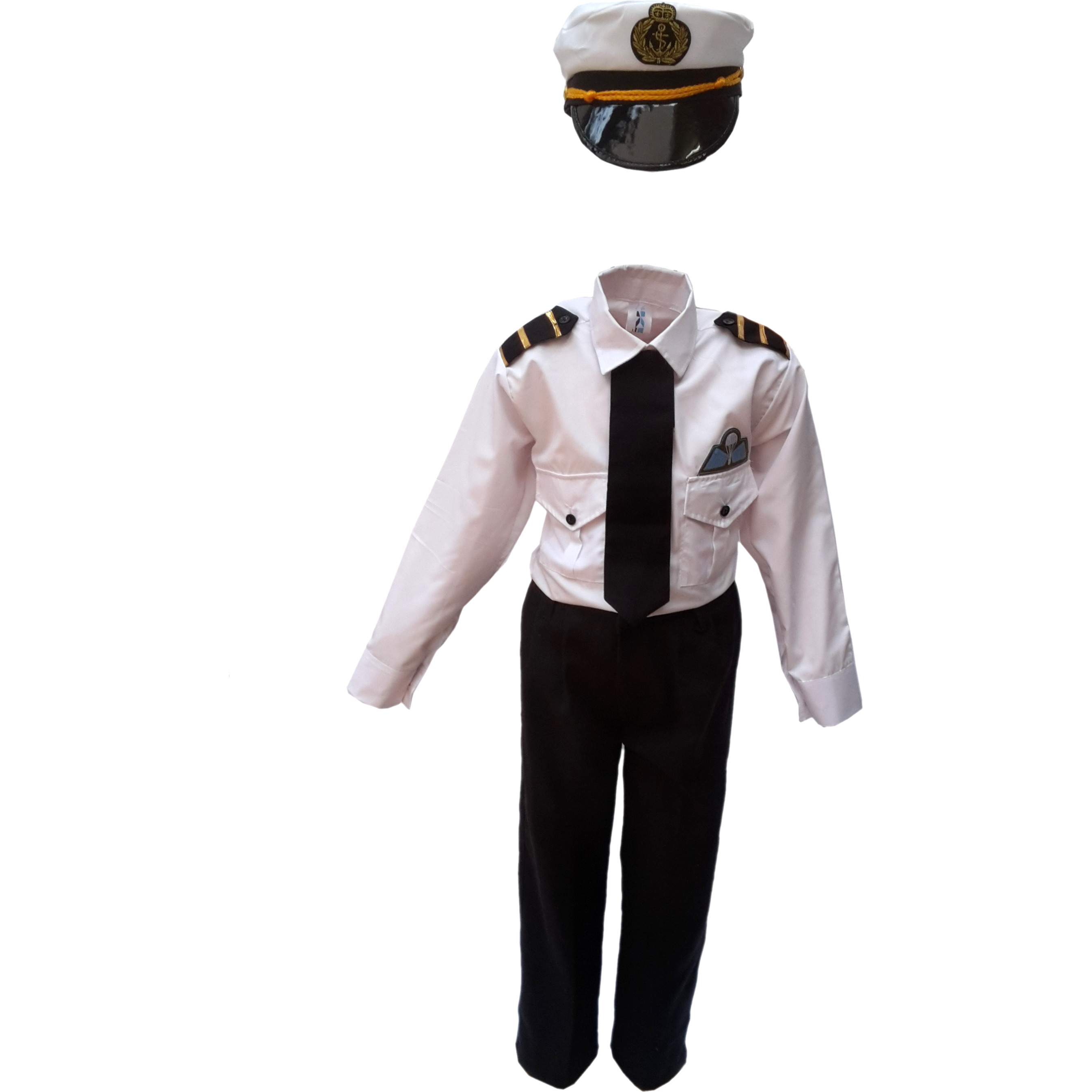 KFD Pilot Fancy Dress For Kids,Our Helper Costume For Annual Function/Theme Party/Competition/Stage Shows Dress