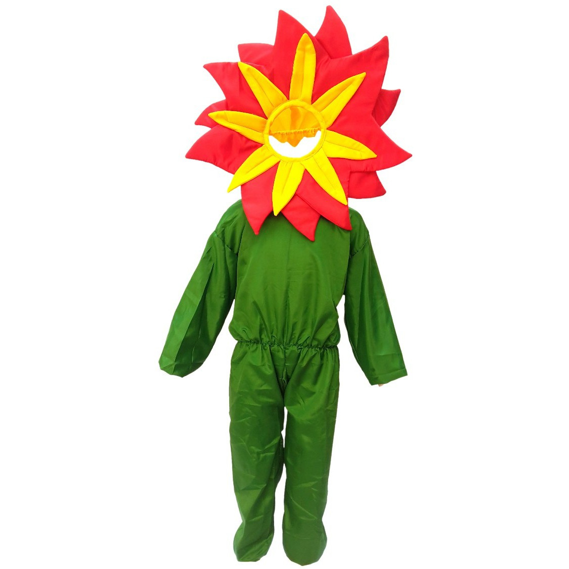 KFD Red flower fancy dress for kids,Nature Costume for Annual function/Theme Party /Stage Shows/Competition/Birthday Party Dress