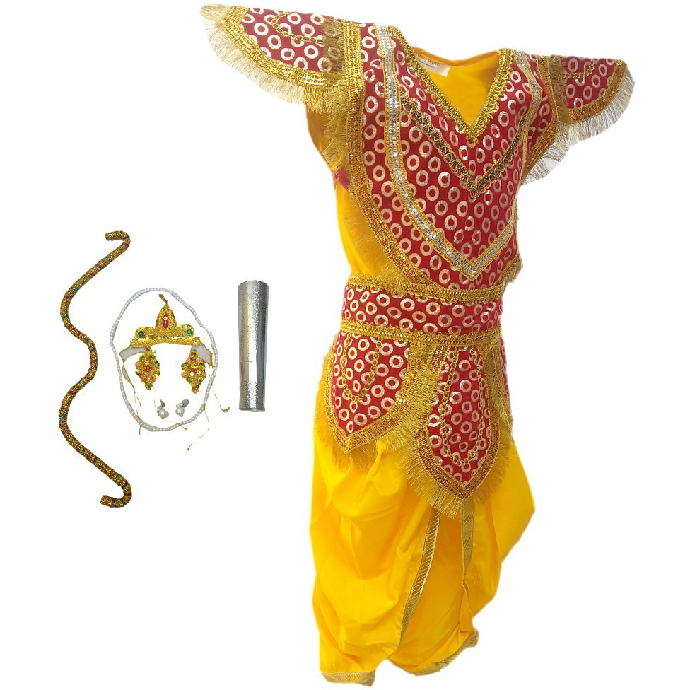 KFD Lord Ram fancy dress for kids,Ramleela/Dussehra/Mythological Character for Annual function/Theme Party/Competition/Stage Shows Dress