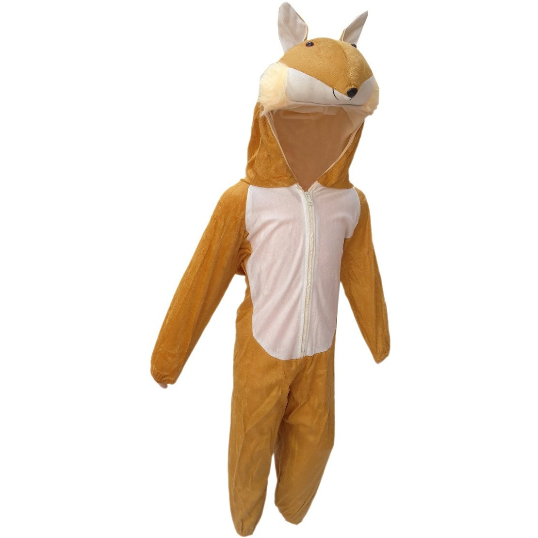 KFD Fox fancy dress for kids,Wild Animal Costume for Annual function/Theme Party/Competition/Stage Shows/Birthday Party Dress